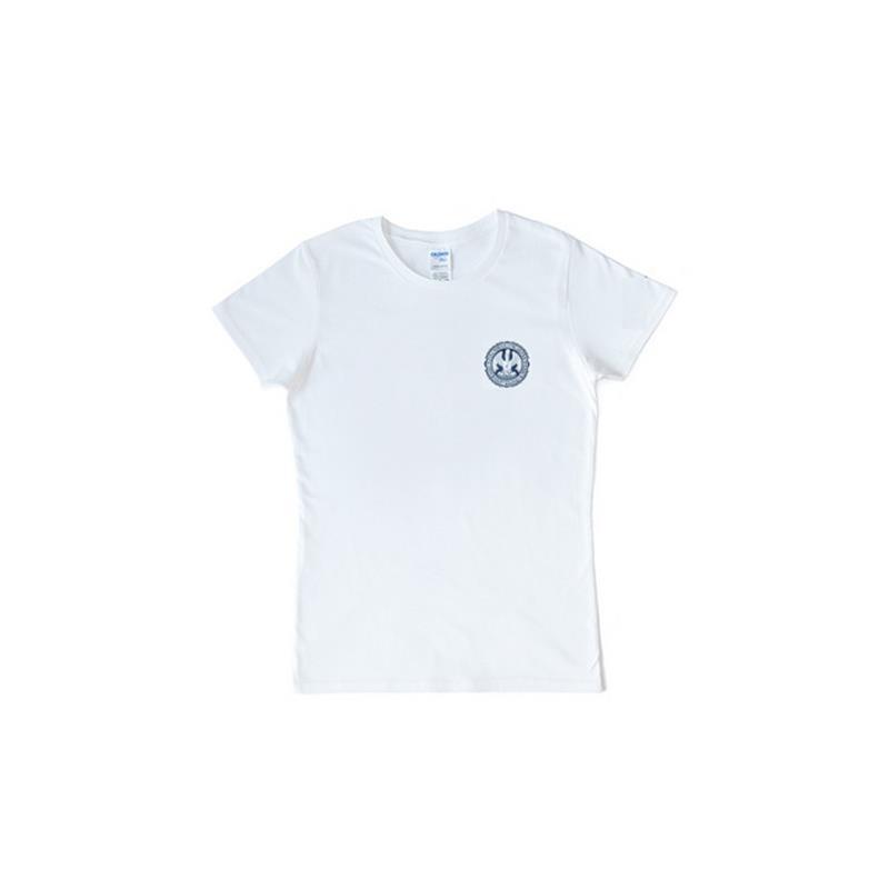 cf3ce0b5e81c5 Dámské tričko bílé malé logo